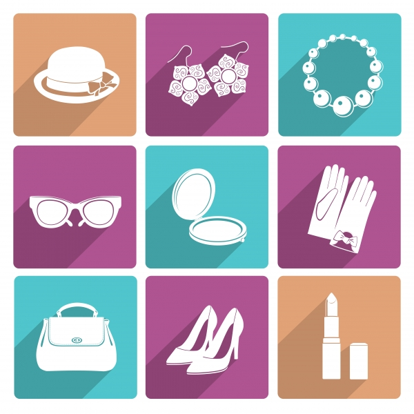 9360168-woman-accessories-flat-icons-set